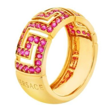 Versace Celebrates Valentine's Day With Red Ruby Collection