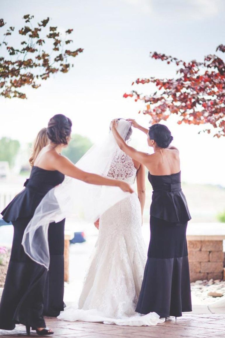 Beautiful Bohemian Wedding Set In A Vineyard