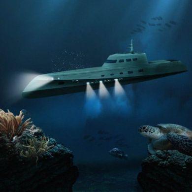Honeymoon On A Luxury Submarine