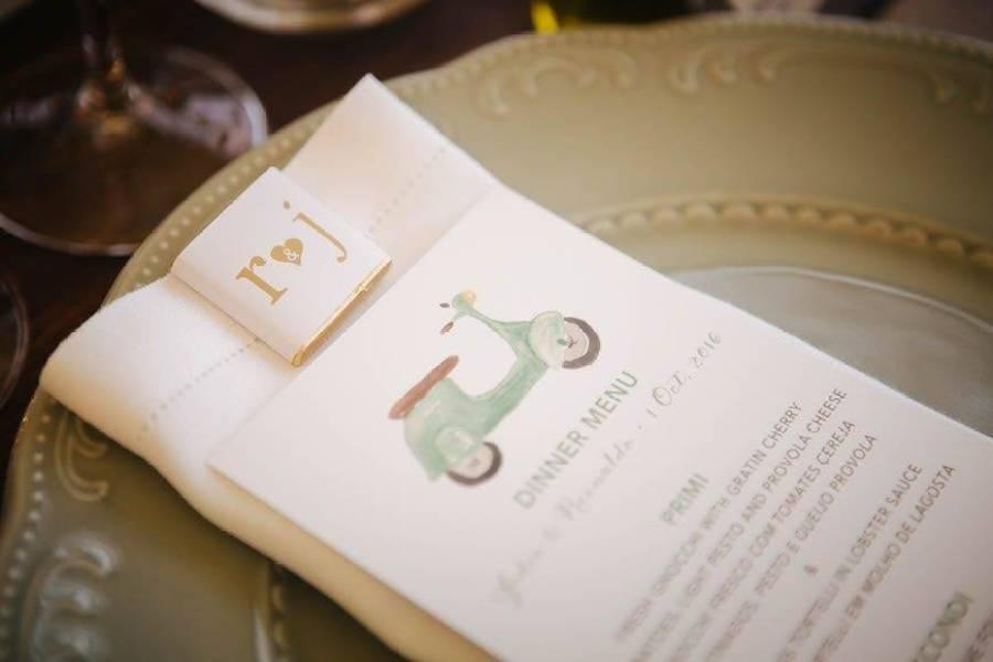 Wedding Menu Italy