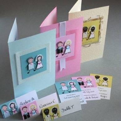 Custom Cookie Company Wedding Invitations