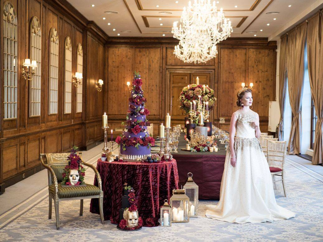 A perfect location for a festive wedding