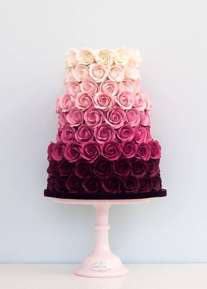Continue the theme through to a gorgeous cake. Photo: Rosalind Miller