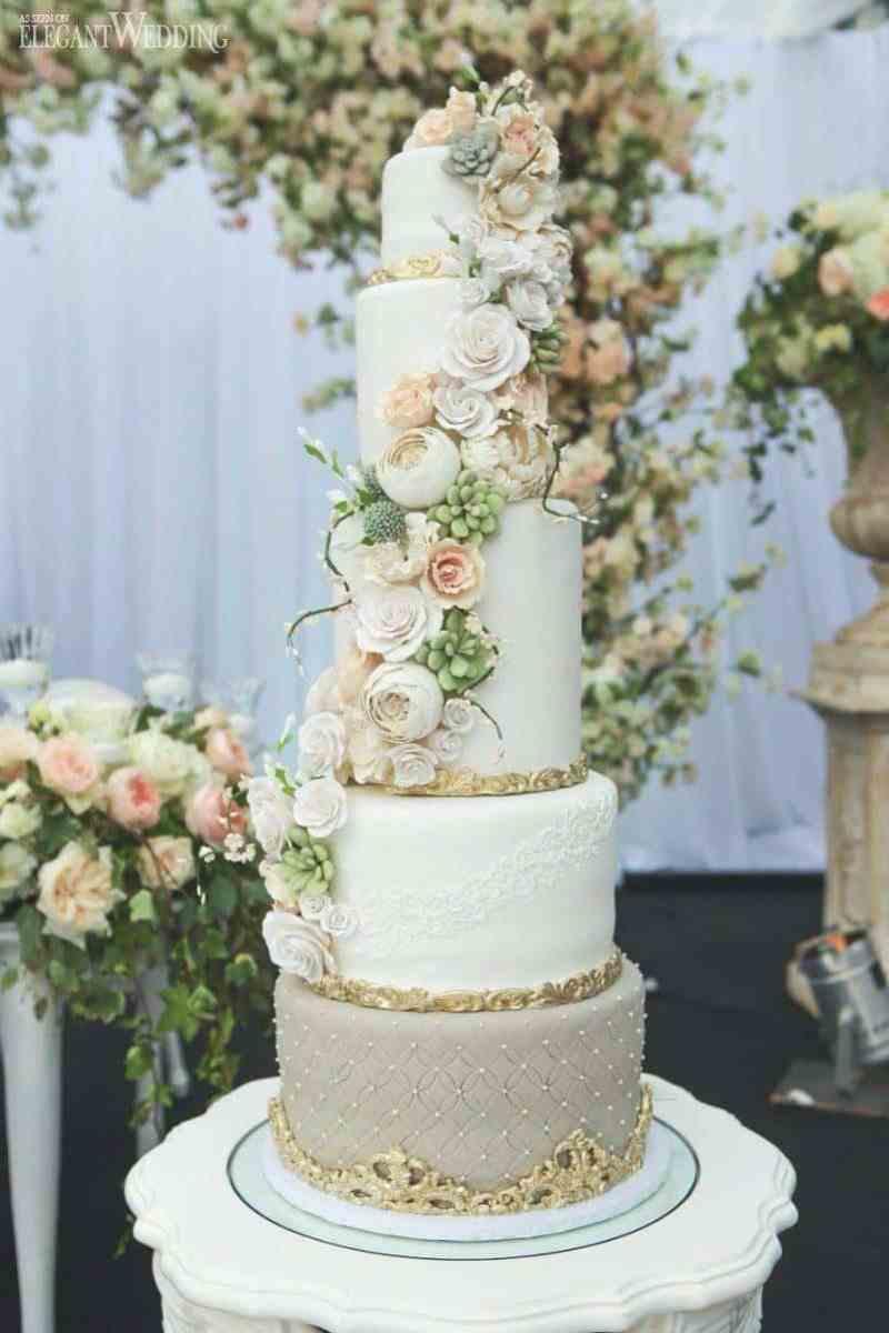 Summer Wedding Cakes