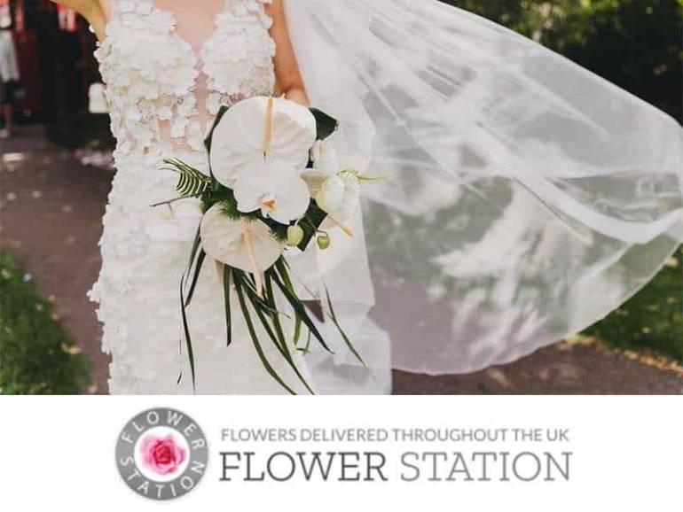 flower station logo