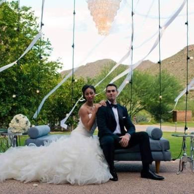 A luxury wedding in Arizona