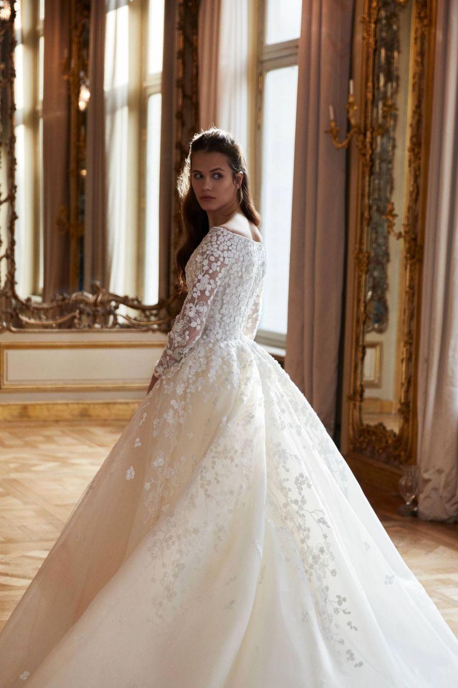 Elie Saab's spring 2019 bridal collection