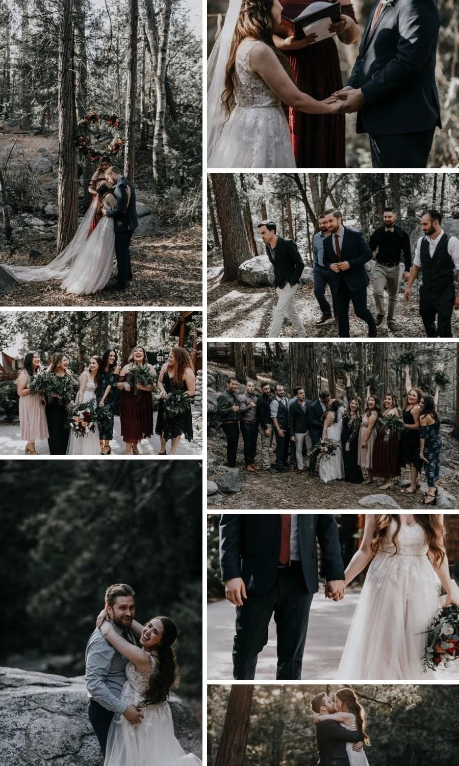 cabin wedding 4