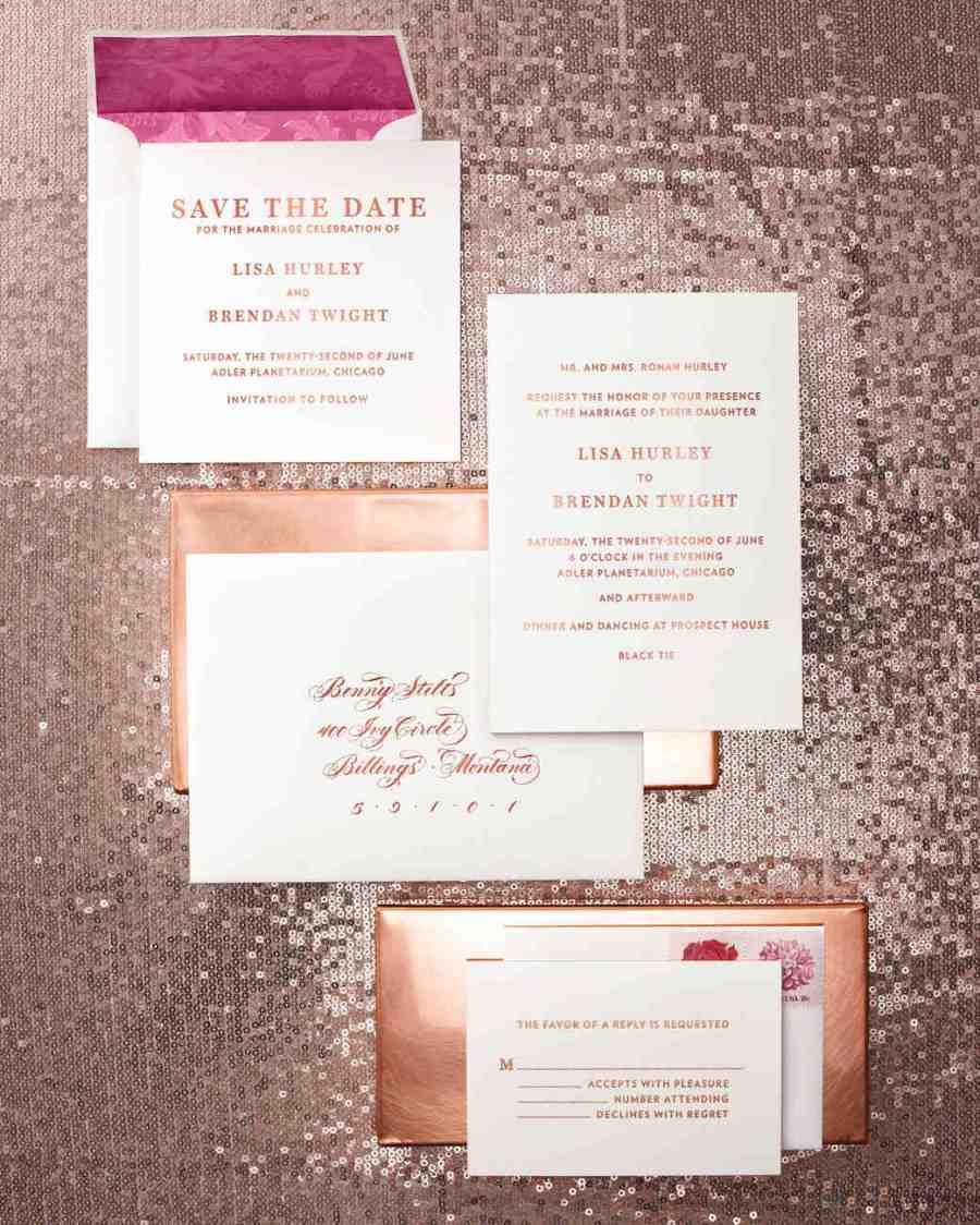 Wedding stationery trends