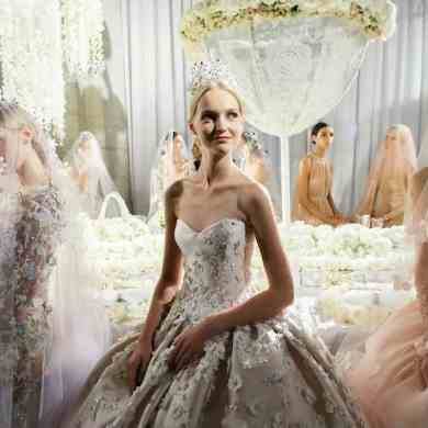 Wedding dress collection: Reem Acra – Celebration