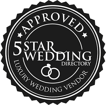 Grab Your 5 Star Wedding Badge