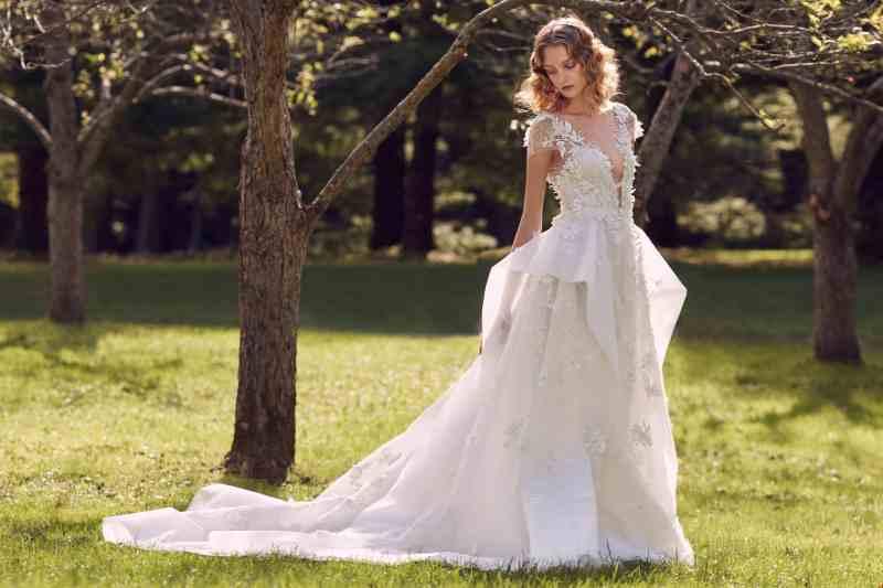 Wedding dress collection: Marchesa – Fall 2019