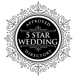 5starweddingdirectory badge approved