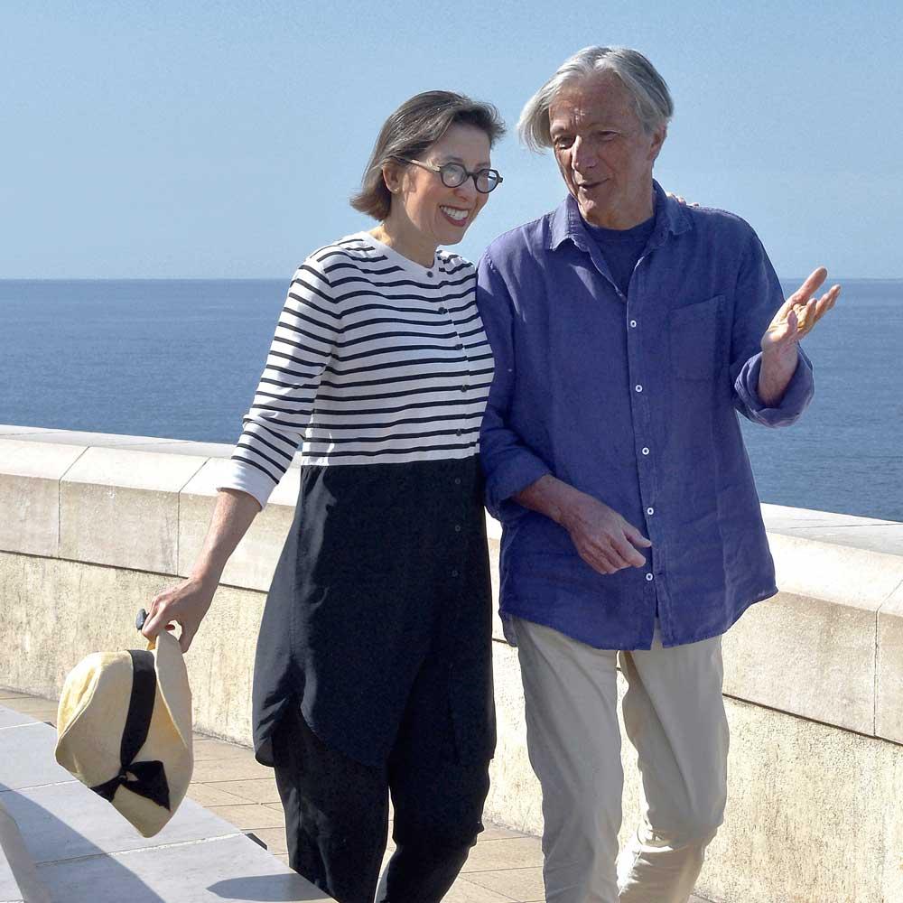 Bernard Touillon & Cécile Vaiarelli