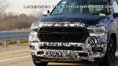 Photo of 2019 Ram 1500 spy video
