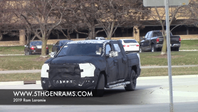 Photo of 2019 Ram Laramie spy video