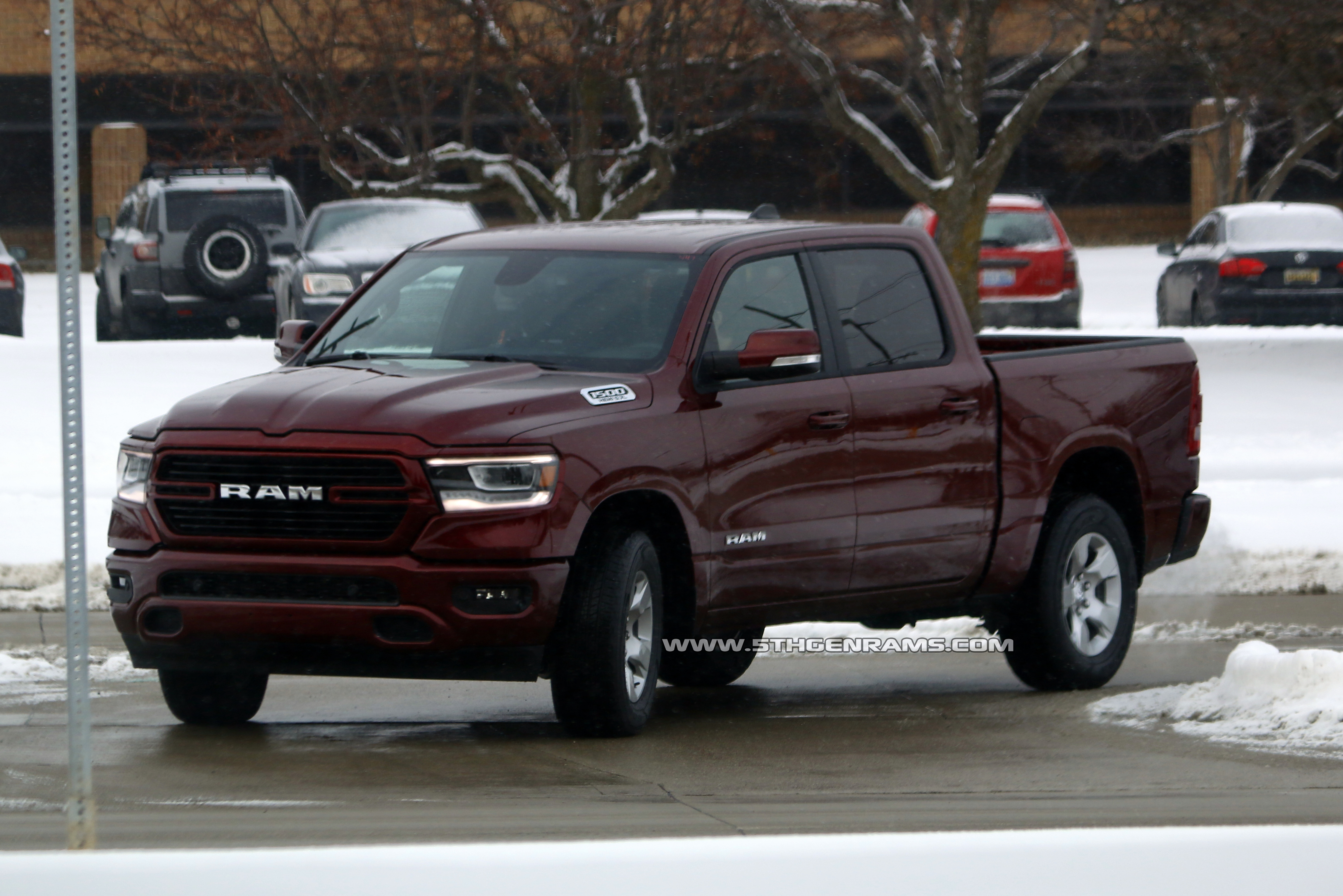 Here are the first photos of an uncovered 2019 Ram in the ...