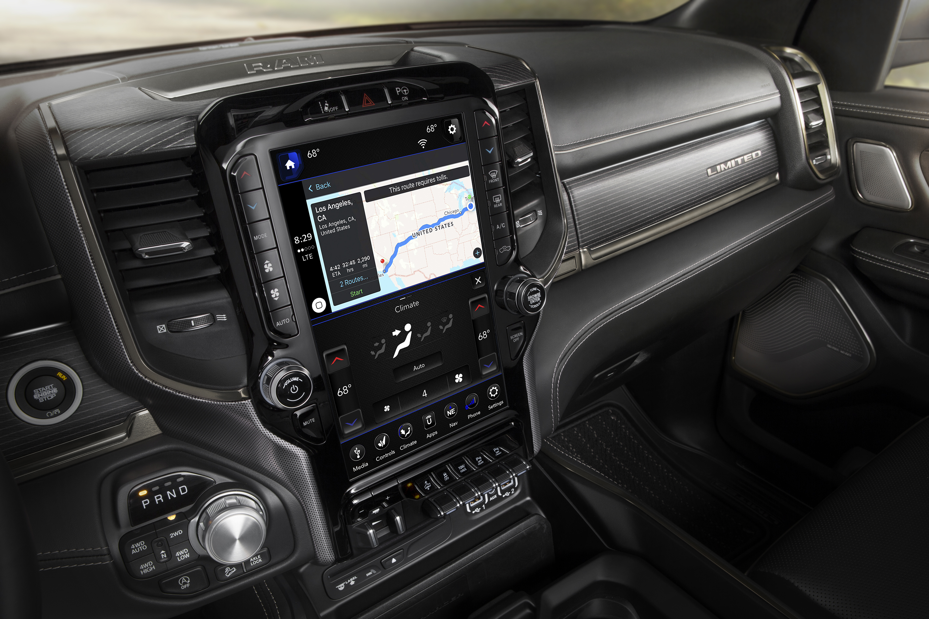 2019 Ram 12 inch UConnect system in depth - 5th Gen Rams