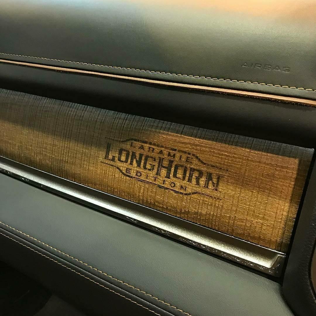 2019 Ram Laramie Longhorn interior