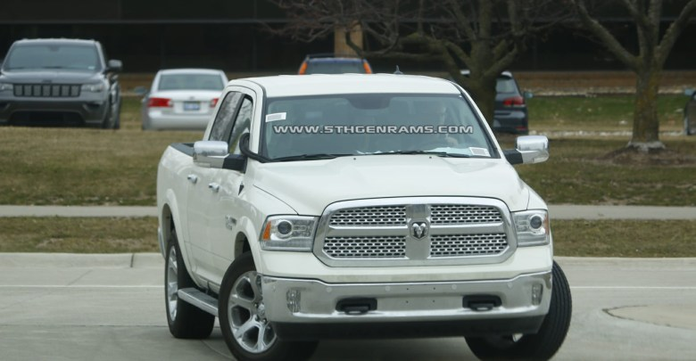 Is this a mule for the 2019 Ram EcoDiesel? - 5th Gen Rams