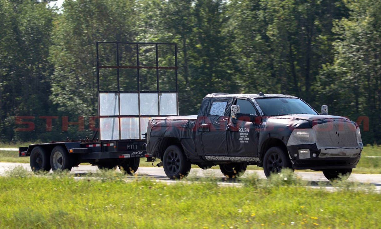 2020 Ram HD towing