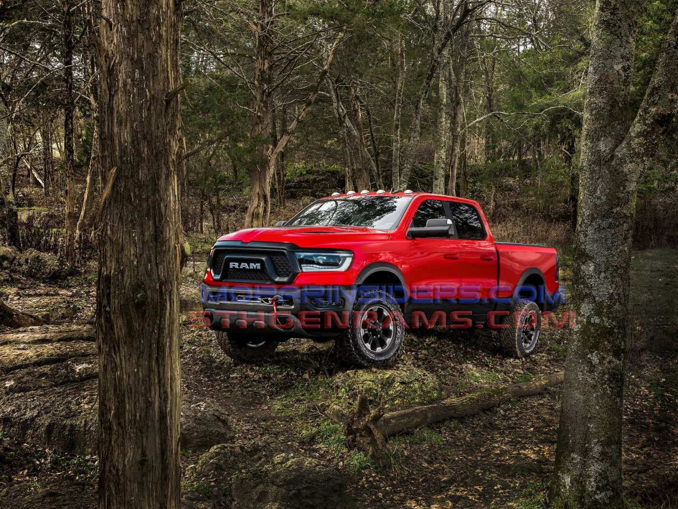 Is This 2020 Ram Power Wagon Rendering Previewing The New Hd