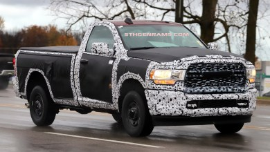 Photo of More Pictures Of The 2019 Ram 2500 Tradesman On The Streets: UPDATED with more photos!