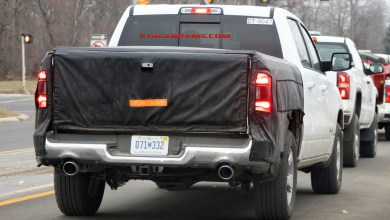 Photo of CAUGHT: 2020 Ram 1500 With New Tailgate Design: