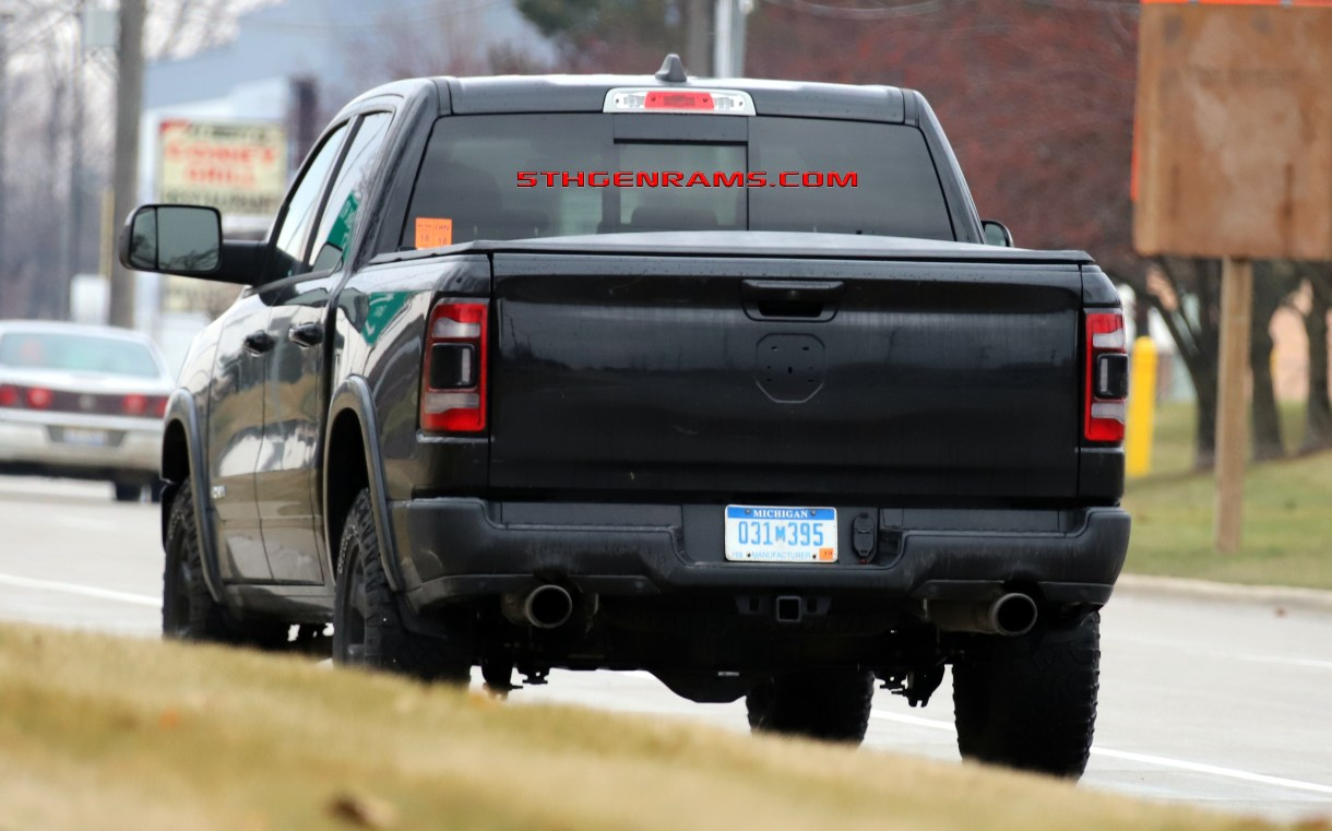 CAUGHT: ECODIESEL 2019 Ram 1500 Rebel On The Streets: - 5th Gen Rams