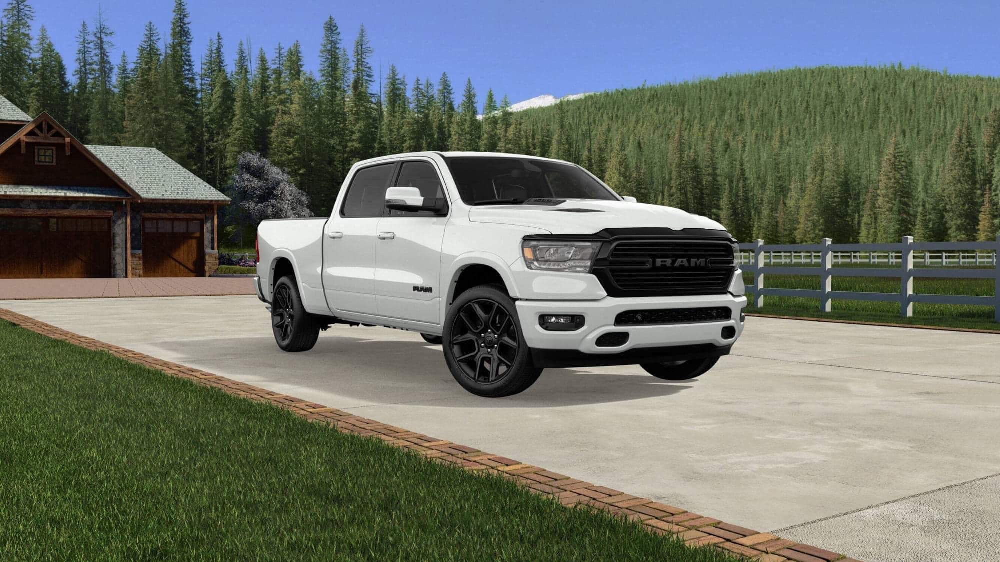 2020 Ram 1500 Gets Night Edition Package Rebel Black