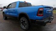 2020 Ram 1500 Rebel Crew Cab 4x4 in Hydro Blue. (Tri County Chrysler Dodge Jeep RAM).