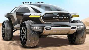 Futuristic Ram Truck Design. (Paul Piliste).