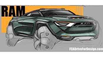 Futuristic Ram Truck Design. (Ricky Ryan Goimarac).