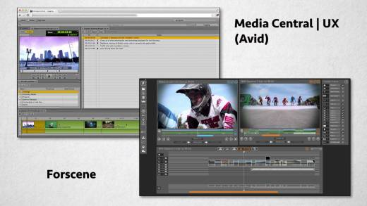 Avid Media Central | UX and Forscene