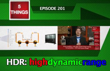 5 THINGS S02E01 HDR Thumbnail