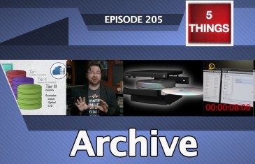 5 THINGS: on Archive Thumbnail