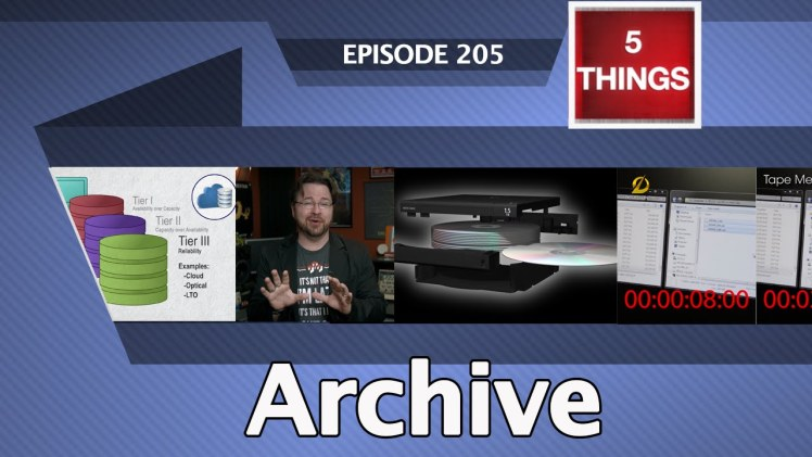 5 THINGS: on Archive