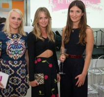 Emily Few Brown, Cressida Bonas, Julia de Boinville at the Be Inspired Art Auction, Saatchi Gallery in aid of The Prince's Foundation for Children & the Arts. Photo www.theurbansnapper.com