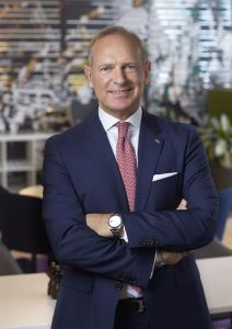 Frank Fiskers, President & CEO Scandic Hotels