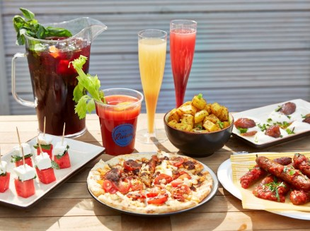 Bottomless Brunch at London Riviera