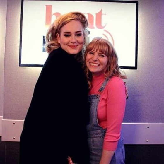 Sarah Powell with Adele