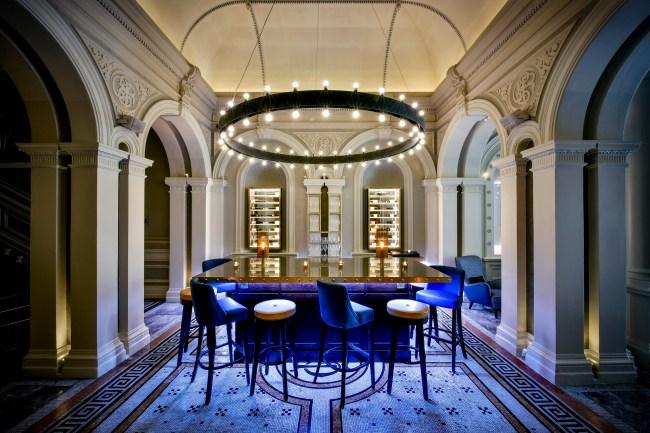 Andaz London Liverpool Street_1901 Wine Lounge_2