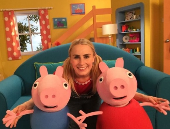Emma Grace Arends stars as the first human character in the popular children's first motion picture 'Peppa Pig: My First Cinema Experience'. Emma stars as Daisy, Peppa's bubbly human friend and brings the interactive cinema experience to life.
