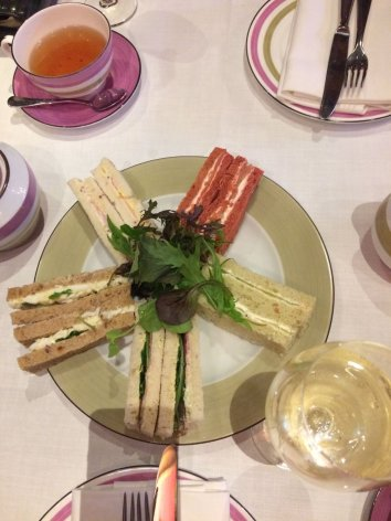 Enjoy a luxury champagne afternoon tea at Great Fosters Hotel, Egham, Surrey