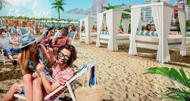 Image result for fulham beach beach