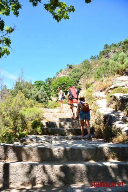 Near Arado's waterfall