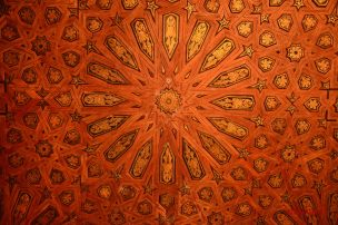 Ceiling detail Alhambra Spain