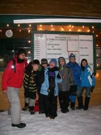 One final shot of the whole gang (Scouter Jason, Wojtek, Finn, Tavish, Isaac, Simon & Max) mugging for the camera.