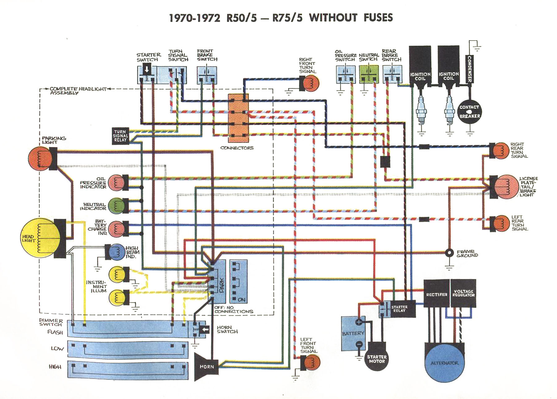 5_unfused_schematic?resize=665%2C477 1974 yamaha xs650 wiring diagram wiring diagram XS2 Bow String at gsmportal.co