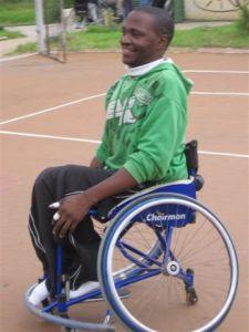 Allen Mtatase Immovesta Dolphins Rollstuhl Basketball - 5VIER